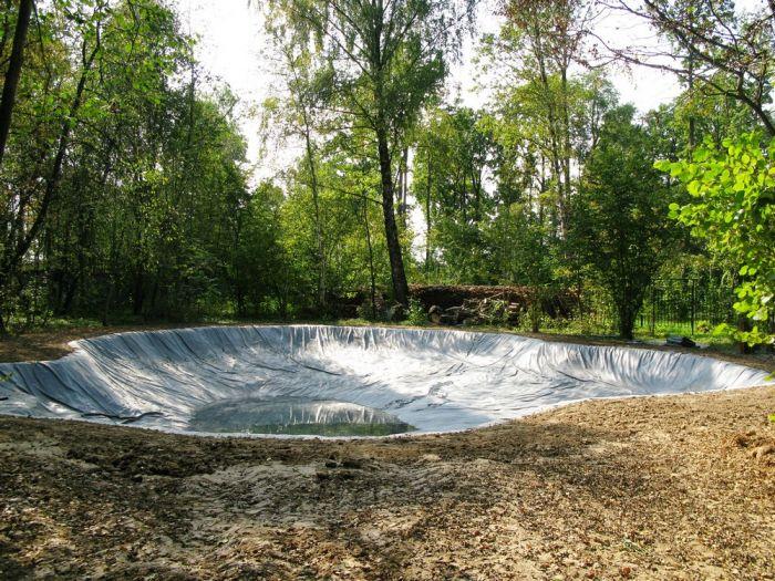 пленка для искусственных водоемов сберегающее тепло