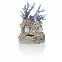 "Орнамент ""Коралловый риф"", голубой, Coral reef ornament blue"